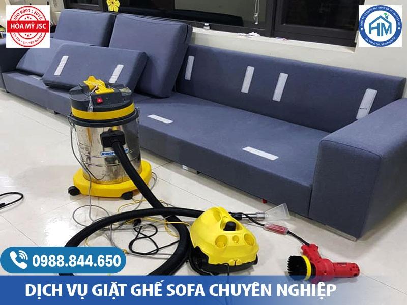 Giặt thế sofa tại Hà Nội
