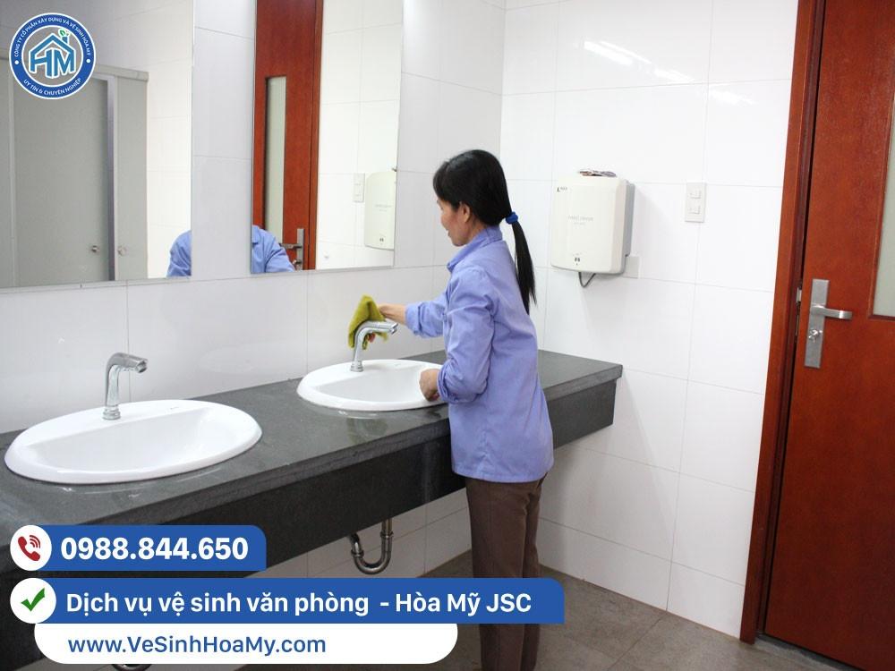 vệ sinh văn phòng định kỳ