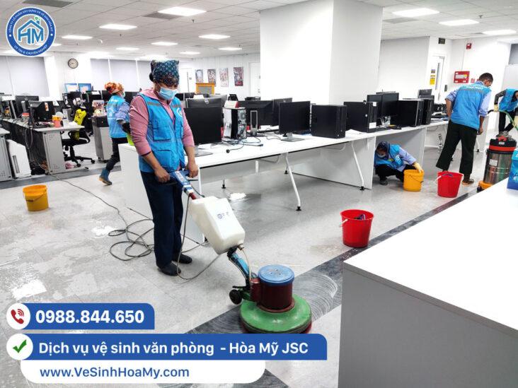 Tổng vệ sinh văn phòng