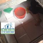 Thau rửa bể nước ngầm nhà riêng