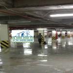 Vệ sinh công nghiệp làm sạch sàn Epoxy tại Park Hill-Time City