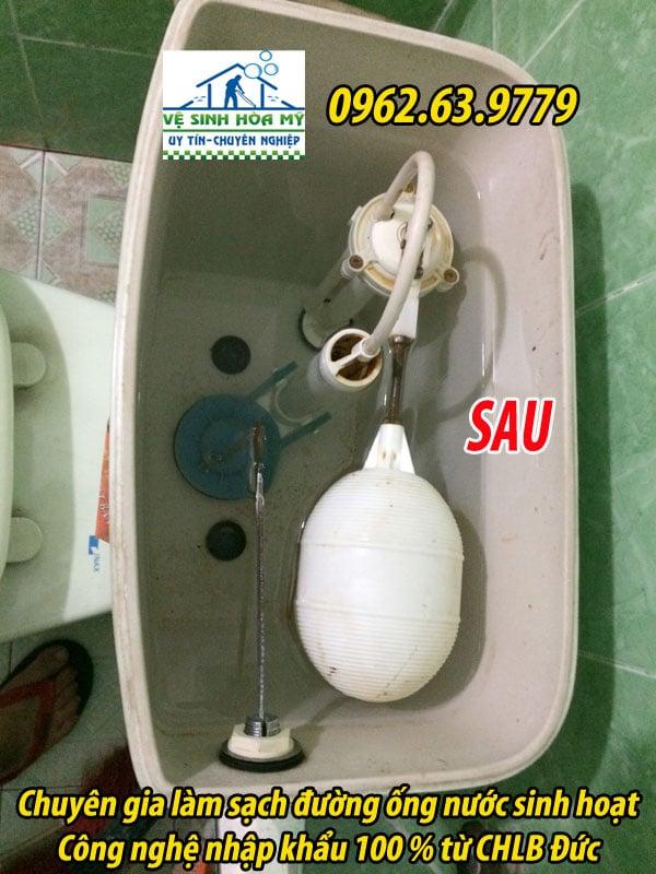 sục rửa đường ống nước sinh hoạt