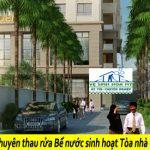 Dịch vụ Thau rửa Bể nước Sinh hoạt Tòa nhà chung cư tại Hà Nội Chuyên nghiệp