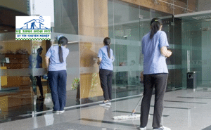 Vệ sinh ngân hàng tại Hà Nội