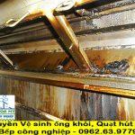Dịch vụ vệ sinh ống khói quạt hút mùi Bếp nhà hàng khách sạn-Uy tín, Chuyên nghiệp
