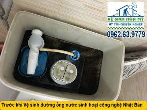Thau rửa đường ống nước trục chính tòa nhà chung cư
