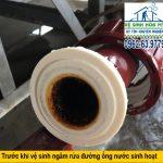 Dịch vụ vệ sinh đường ống nước sinh hoạt tại Hà Nội