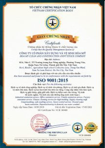 iso-9001-2015 công ty hòa mỹ