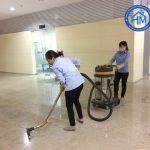 Dịch vụ vệ sinh công nghiệp sau xây dựng tại Hà Nội