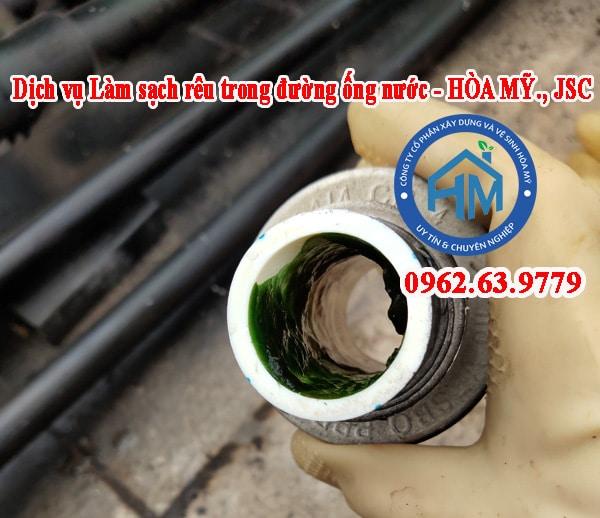 Dịch vụ Làm sạch rêu trong đường ống nước