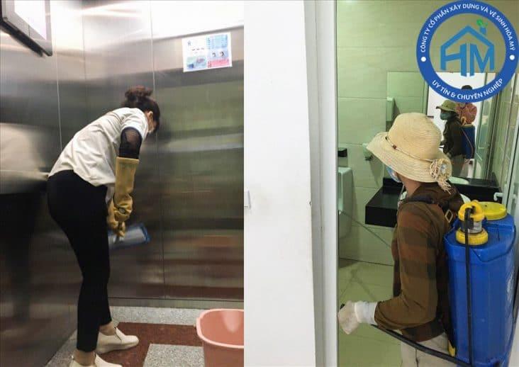 dịch vụ vệ sinh nhà cửa, văn phòng