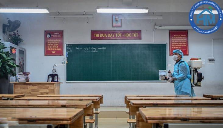 dịch vụ tạp vụ trường học uy tín Hà Nội