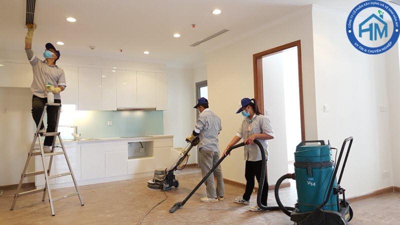 dịch vụ dọn dẹp văn phòng tại Hà Nội