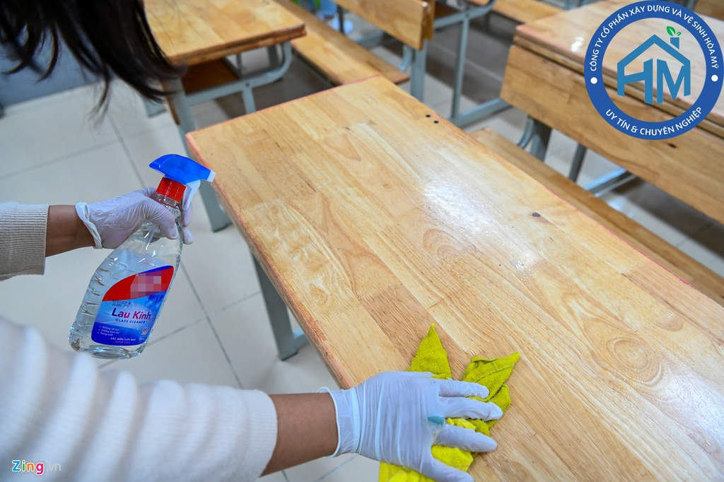 Dịch vụ khử trùng, vệ sinh nhà cửa