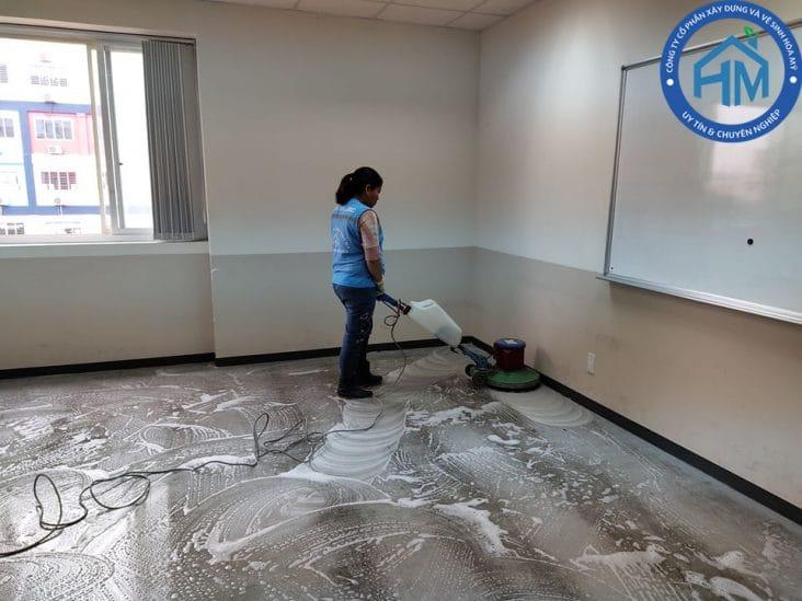 vệ sinh văn phòng uy tín tại Hà Nội