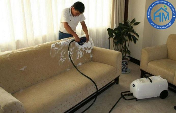 dịch vụ giặt ghế sofa