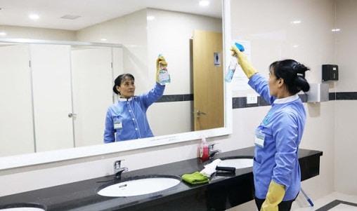 Làm vệ sinh văn phòng theo giờ uy tín nhất Hà Nội