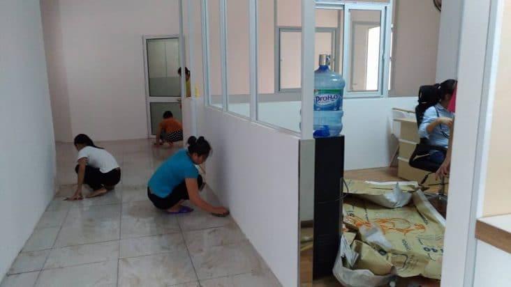 vệ sinh công nghiệp nhà ở uy tín chất lượng hà nội