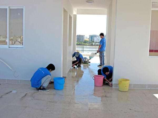 vệ sinh công nghiệp nhà ở theo giờ uy tín chất lượng hà nội