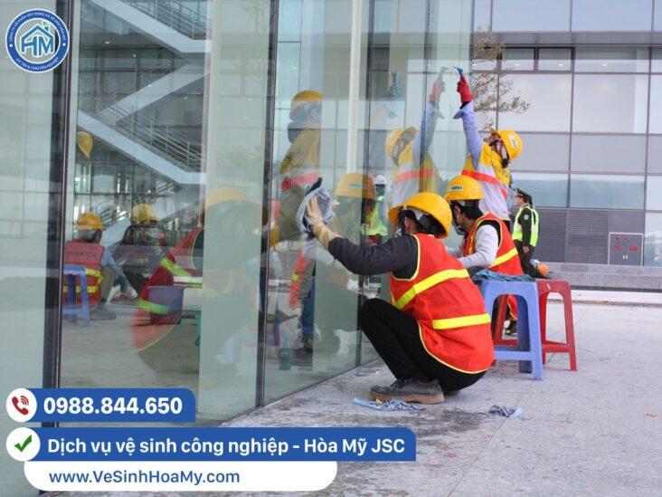 dịch vụ vệ sinh công nghiệp tại Mê Linh