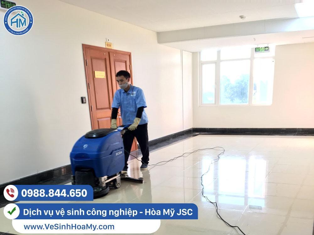 Dịch vụ vệ sinh công nghiệp tại Đống Đa