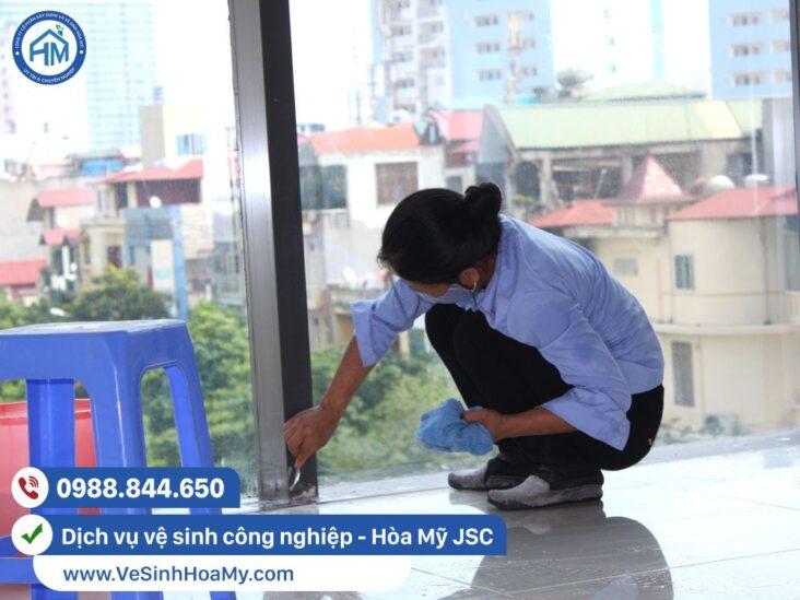 Vệ sinh công nghiệp tại Thanh Xuân