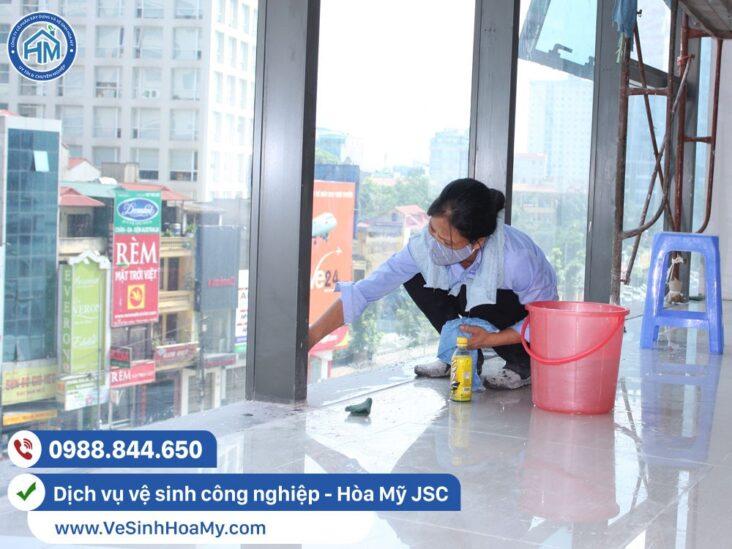 Dịch vụ vệ sinh công nghiệp tại Hà Đông