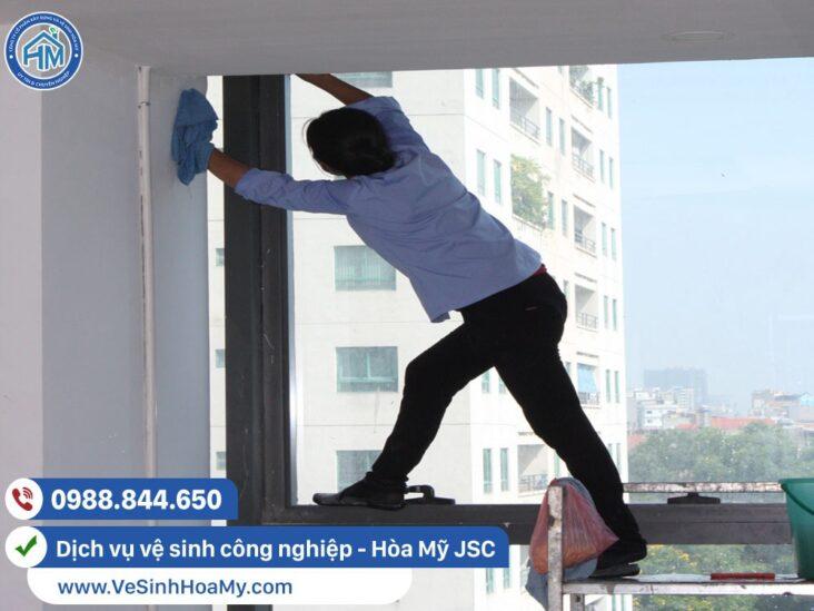 Vệ sinh công nghiệp sau xây dựng tại Thường Tín