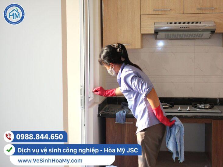 vệ sinh công nghiệp tại Gia Lâm