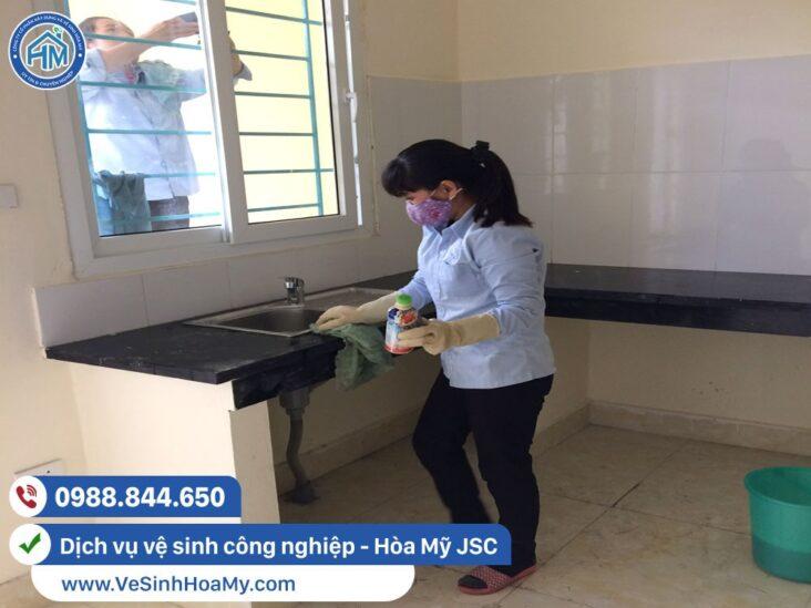 Dịch vụ vệ sinh công nghiệp tại Bắc Từ Liêm