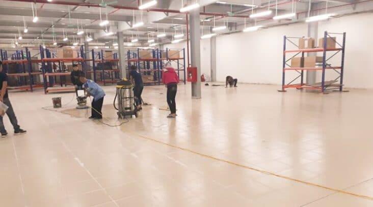 dịch vụ vệ sinh công nghiệp tại Mê Linh chất lượng
