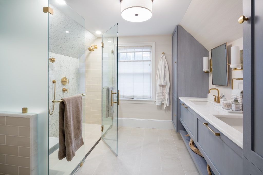 Phủ nano cho vách kính nhà tắm tại Tây Hồ