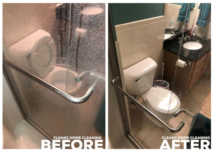 phủ nano cho vách kính nhà tắm tại Hoàng Mai