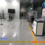 Phủ bóng sàn Vinyl chống tĩnh điện tại Bắc Ninh