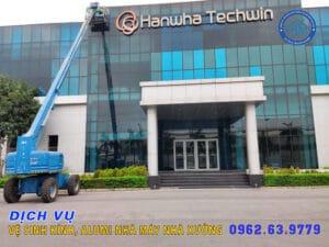 Dịch vụ vệ sinh nhà xưởng tại Nam Định