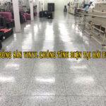 """Phủ bóng sàn Vinyl chống tĩnh điện tại Hải Phòng: Xu hướng đang """"bùng nổ"""" mạnh mẽ và nhộn nhịp"""