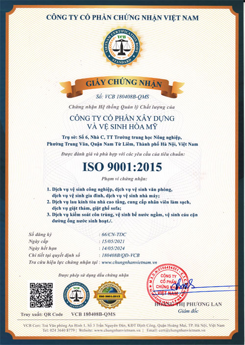 iso-9001-2015-cong-ty-ve-sinh-hoa-my