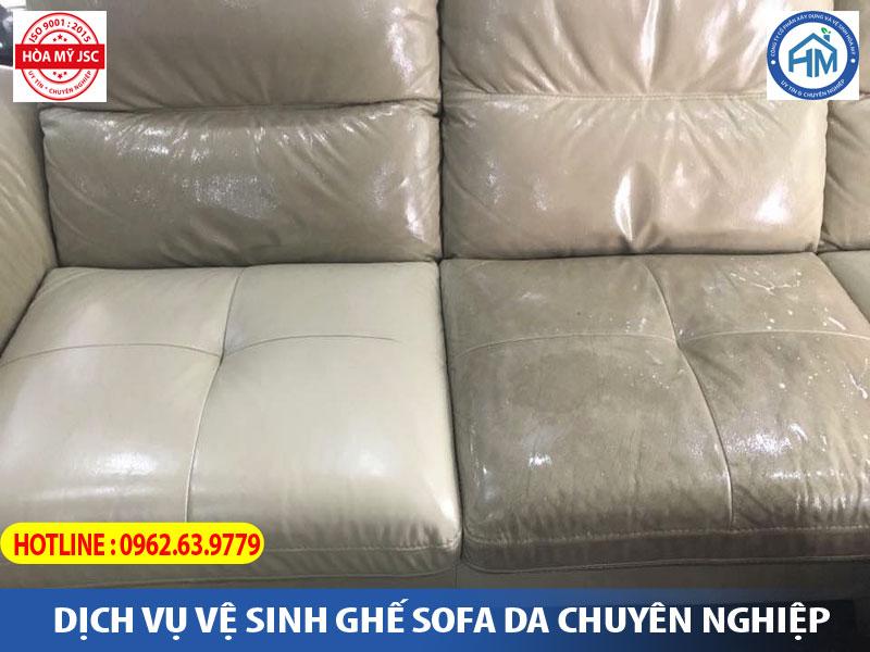 dịch vụ làm sạch ghế sofa